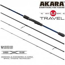 Спиннинг AKARA TEURI TRAVEL ML 2,28 м (4-17 гр)